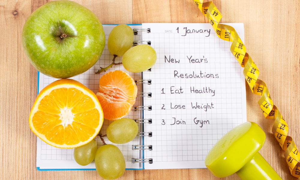 resolutions for a healthier new year