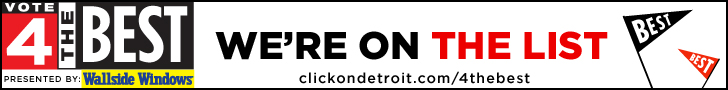 Click On Detroit, Modernistic, Local 4, Vote 4 The Best